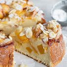 Fresh Peach Ricotta Cake - Seasons and Suppers