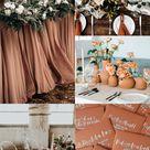 Terracotta Wedding Theme
