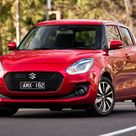 Download wallpapers Suzuki Swift Sport, 2018, red Swift, hatchback, new cars, Japanese cars, Suzuki besthqwallpapers.com