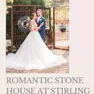 Romantic Stone House at Stirling Ridge Wedding