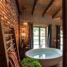 Ausgefallene Designideen für ein Landhaus Badezimmer - ArchZine