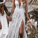 21 Rustic Lace Wedding Dresses For Different Tastes Of Brides   Wedding Dresses Guide