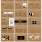 Kraft Paper Free PowerPoint Template and Google Slides Theme – presentation by PPTMON