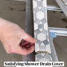 Bathroom idea | drain cover | shower drain | bathroom tiles | bathroom inspiration