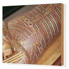Box Canvas Print. Detail of a canopic coffin from the Tomb of