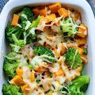 Brokkoliauflauf mit Süßkartoffeln - ein schnelles Kinderrezept