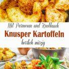 Knoblauch-Parmesan Knusperkartoffeln | Food-Blog Schweiz | foodwerk.ch