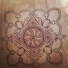 Wood Burning Patterns