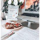 study desk organization