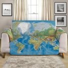 Couch Cover - Seven Seas by Coastal Passion, Armchair  Cover 76