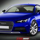 2015 Audi TT Coupe Rendered with Allroad Shooting Brake Concept