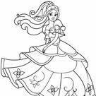 Desenhos de princesas para colorir - Blog Ana Giovanna