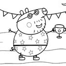 Peppa Pig Coloring Pages Online Coloring