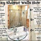 Epoxy Shower Walls