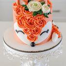 Fox Cake Design Images (Fox Birthday Cake Ideas)