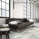 Vinyl Cement Carreaux Carpet - Ginette