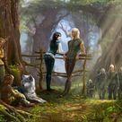 the Elven Territories by DarianaLoki on DeviantArt