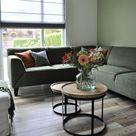 Binnenkijken in ... een woonkamer met een groene hoekbank in Nieuwegein -