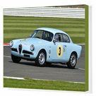 Box Canvas Print. CM9 6011 Louis Frankel, Alfa Romeo Giulietta