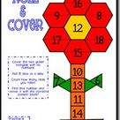 Math Stations–April Style