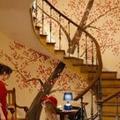 Inside the Colorful House from the