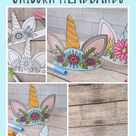 Color Your Own Unicorn Headband