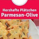 Rezept: Parmesan-Oliven-Plätzchen