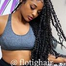 Follow  ourI IG account  @ flotighair_ and say hello to me to get free products~ Come contact me!
