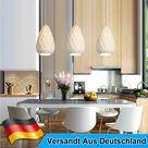 3er Lampenschirm Pendellampe E27 Hängelampe Deckenleuchte Hängeleuchte Esstisch