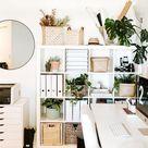 Boho Minimalist Office Inspiration - Tory Stender
