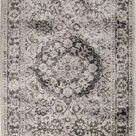 Layla Tan & Brown Woven Area Rug - 5 ft x 8 ft