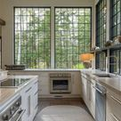 Trends We Love Factory Windows in the Kitchen