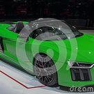 Switzerland; Geneva; March 8, 2018; Audi R8 Spyder V10 Plus; The Editorial Photo   Image of international, luxurious 128708151