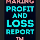 Excel for Accountants Making Profit and Loss Reports in Excel