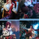 Genshin Impact Rosaria Cosplay Costume-Takerlama