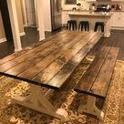 Farmhouse Table Farm Table Long Farmhouse Table Rustic | Etsy