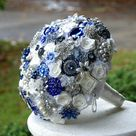 Wedding Brooch Bouquets