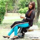 Pakistani girl in tight salwar kameez