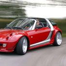 Brabus smart roadster V6 biturbo 2003 ojalá el futuro de smart hubiese sido así