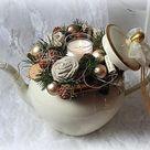 Gesteck weihnachten   Etsy DE