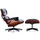 Classic Lounge Chair & Ottoman  Cream