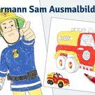 Feuerwehrmann Sam Ausmalbilder | myToys Blog