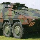 Armour87 780031 Boxer Heavy Ambulance Vehicle German Bundeswehr Model Kit 1/87 Scale