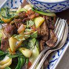 Asiatisches Rind mit Pak Choi und Chili - Madame Cuisine
