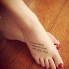 Dance Quote Tattoos