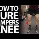 How To Cure Patellar Tendonitis! (Jumpers Knee)