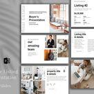 Real Estate Listing Presentation, PowerPoint (782444)   Powerpoint   Design Bundles