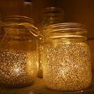 Mason Jar Glitter