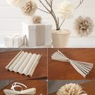 5 DIY Tissue Paper Pom Poms