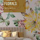 Colour Trend: Yellow Florals to Brighten up your Bedroom Interior